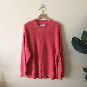 Old navy bright pink sweater